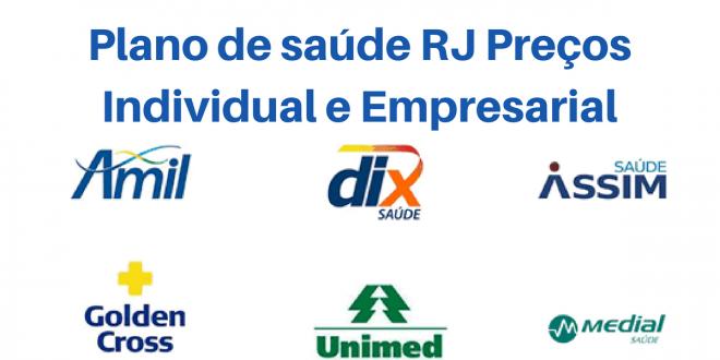Plano de saúde RJ com Preços Individual e Empresarial